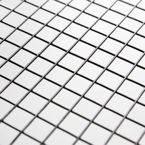 black welded wire mesh rolls
